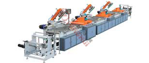 MHS-600  Multicolor Screen Printing Machine(Roll to Roll)